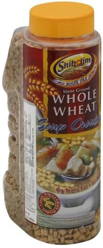Shibolim Whole Wheat Soup Croutons - 14 oz
