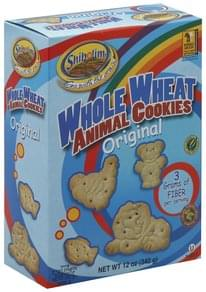Shibolim Animal Cookies Whole Wheat, Original