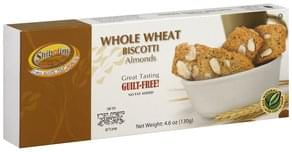 Shibolim Biscotti Whole Wheat, Almonds