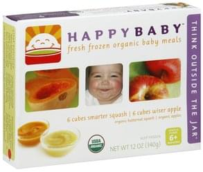 Happy Baby Baby Meals Simple Puree 6+ Months