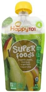 Happy Tot Fruit & Veggie Blend Super Foods