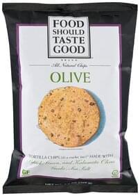 Food Should Taste Good Tortilla Chips Olive