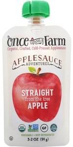 Once Upon A Farm Applesauce