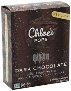 Chloes Pops Dark Chocolate