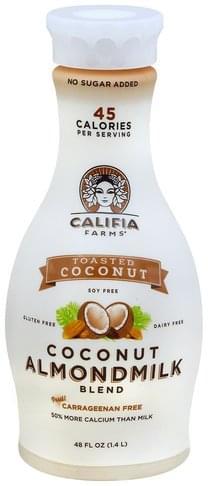 Califia Farms Toasted Coconut Coconut Almondmilk Blend - 48 oz