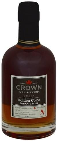 Crown Maple Golden Color Maple Syrup - 12.7 oz