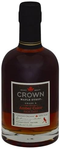 Crown Maple Amber Color Maple Syrup - 12.7 oz