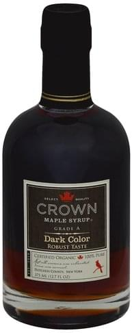 Crown Maple Dark Color Maple Syrup - 12.7 oz