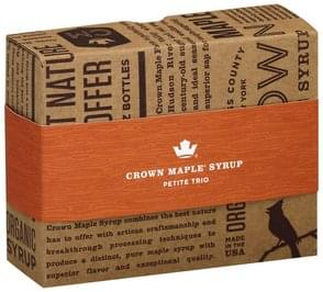 Crown Maple Maple Syrup Petite Trio