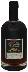 Crown Maple Maple Syrup Very Dark Color