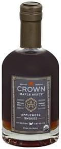 Crown Maple Maple Syrup Applewood Smoked