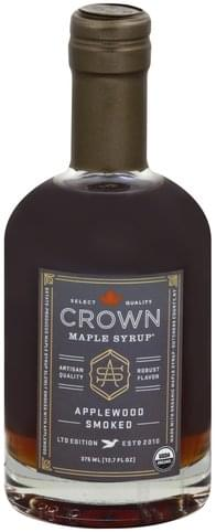 Crown Maple Applewood Smoked Maple Syrup - 12.7 oz