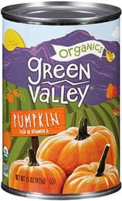 Green Valley Pumpkin Organics