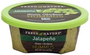 Fresh Nature Hummus Green Chickpea, Jalapeno