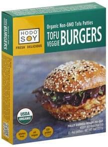 Hodo Soy Tofu Burgers Organic, Veggie