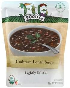 Fig Food Soup Lightly Salted, Umbrian Lentil