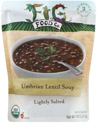 Fig Food Lightly Salted, Umbrian Lentil Soup - 14.5 oz