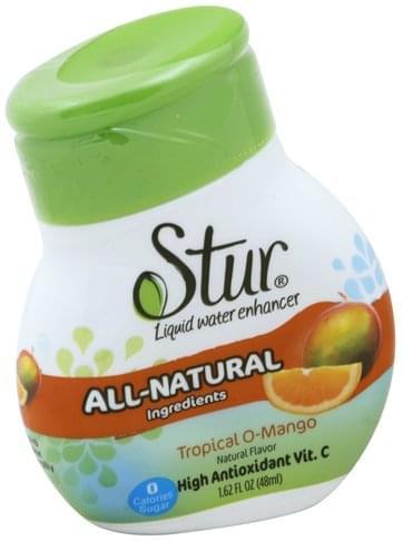 Stur Tropical O-Mango, Liquid Water Enhancer - 1.62 oz