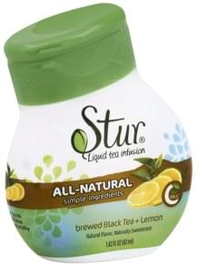 Stur Liquid Water Enhancer Brewed Black Tea + Lemon
