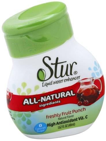 Stur Freshly Fruit Punch Liquid Water Enhancer - 1.62 oz