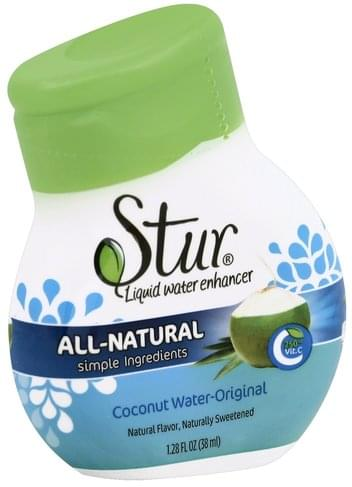 Stur Coconut Water-Original Liquid Water Enhancer - 1.28 oz