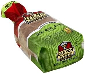 Canyon Bakehouse Bread Deli Rye Style, Gluten Free