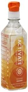 Activate Water Beverage Nutrient Enhanced, Defend, Orange