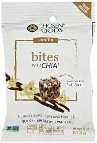 Chosen Foods Bites Vanilla