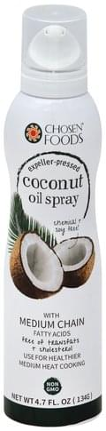 Chosen Foods Expeller-Pressed, Coconut Oil Spray - 4.7 oz