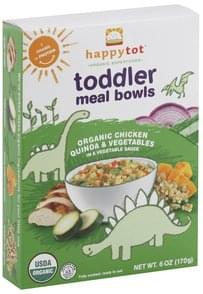 Happy Tot Meal Bowls Toddler, Organic Chicken, Quinoa & Vegetables