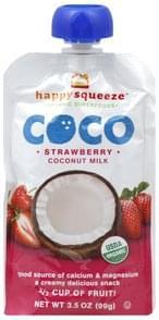 Happy Squeeze Coconut Milk Strawberry
