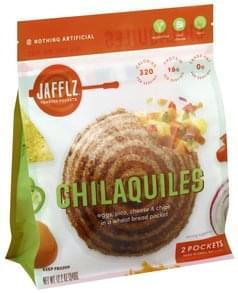 Jafflz Toasted Pockets Chilaquiles