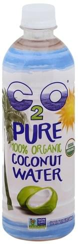 C2O 100% Organic Coconut Water - 16.9 oz