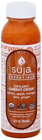 Suja Organic, Carrot Crush Vegetable & Fruit Juice - 12 oz