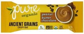Pure Crispy Bar Ancient Grains, Peanut Butter Chocolate