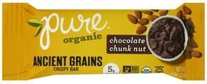 Pure Crispy Bar Ancient Grains, Chocolate Chunk Nut