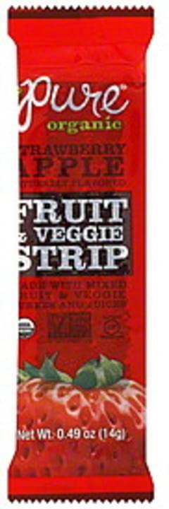 Pure Fruit & Veggie Strip Strawberry Apple