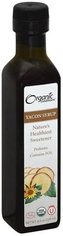 Organic Traditions Yacon Syrup - 8.5 oz