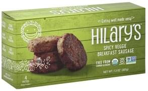 Hilarys Eat Well Breakfast Sausage Veggie, Spicy