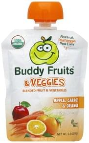 Buddy Fruits Blended Fruit & Vegetable Organic
