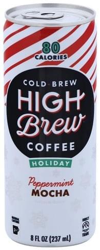 High Brew Peppermint Mocha Coffee - 8 oz