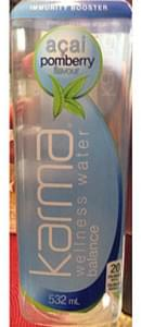 Karma Kombucha Acai Pomberry Wellness Water Balance