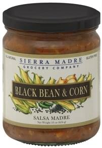 Sierra Madre Salsa Madre Black Bean & Corn