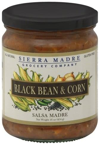 Sierra Madre Black Bean & Corn Salsa Madre - 16 oz