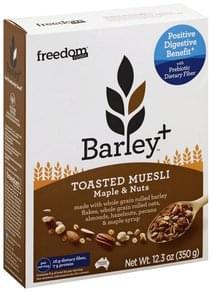 Freedom Foods Muesli Toasted, Maple & Nuts