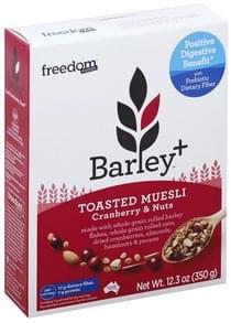 Freedom Foods Muesli Toasted, Cranberry & Nuts