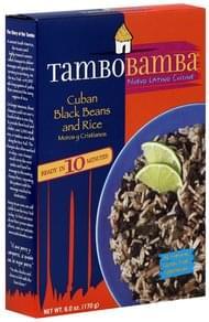 TamboBamba Black Beans and Rice Cuban