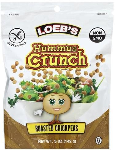 Loebs Roasted Chickpeas Hummus Crunch - 5 oz