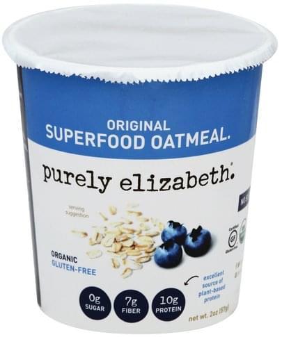 Purely Elizabeth Superfood, Original Oatmeal - 2 oz