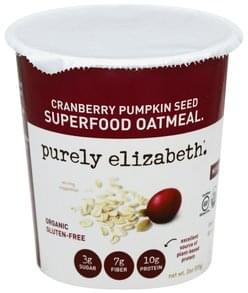 Purely Elizabeth Oatmeal Superfood, Cranberry Pumpkin Seed
